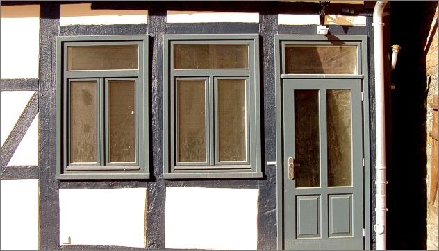 Bevorzugt FACHWERKHAUS - Fenster-Brosch NV73